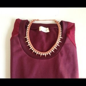 LAST ONE 😍 Wine Burgundy Soft Sweater