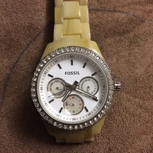 Sale...Fossil watch, new battery