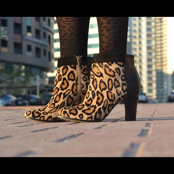 🎁Final Reduction!!! 🎁Leopard Ankle Booties