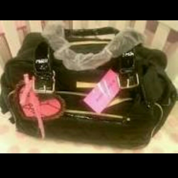 Betsey Johnson Bags Looking For Be Mine Diaper Bag Poshmark