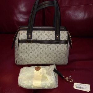 Louis Vuitton Handbags - Authentic Louis Vuitton Josephine Mini GM Bag!