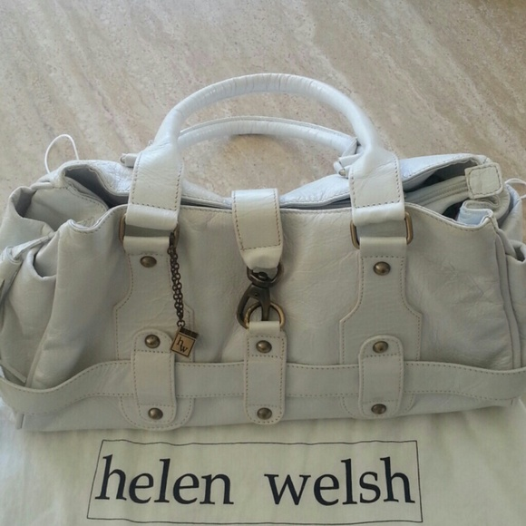 77 Off Helen Welsh Handbags Helen Welsh White Leather