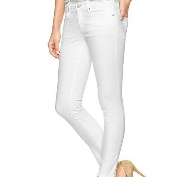 White Legging Jeans - Jon Jean