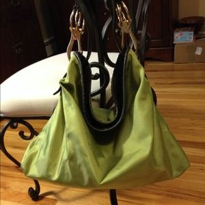 Chartreuse green JPK bag