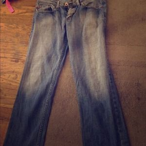 Just usa Denim - Cropped faded jeans!