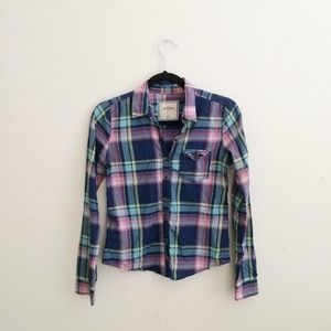 Abercrombie • Plaid Shirt