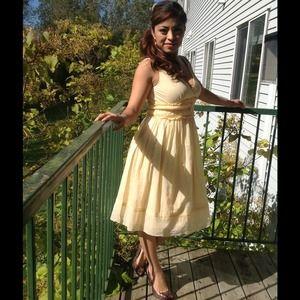 REDUCED!!! Cute yellow dress by Calvin Klein