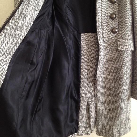 Zara - SOLD***Zara gray military tweed coat from Sunny's closet on ...