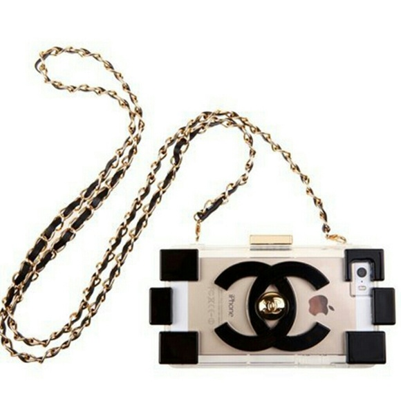 Chanel Metallic Lego iPhone 6 Chain Case OS from L's ...