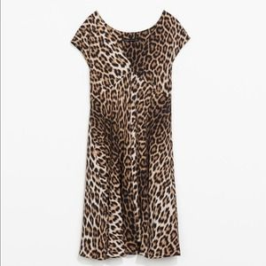 Zara Dresses & Skirts - NWT Zara Animal print dress XS Leopard