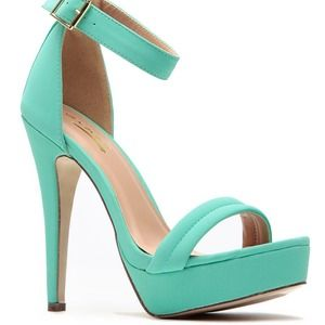 Shoes - ‼️SALE‼️ Mint to be!!! (Mint colored heels)