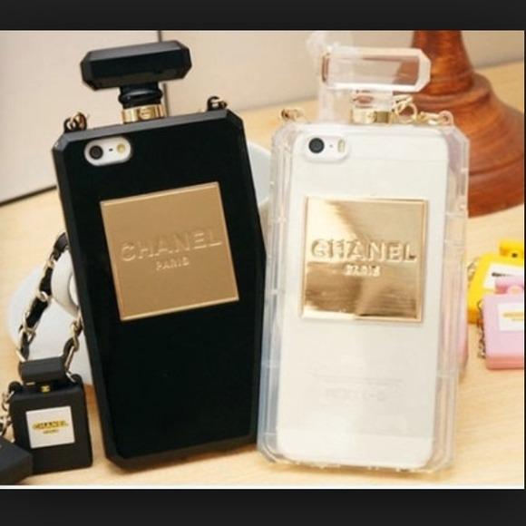 new products 84da9 bc87a NIB Chanel iPhone 5/5s perfume case. NWT