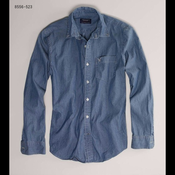 ca2b90c3 American Eagle Outfitters Other - FLASH SALE Mens denim top / jean shirt