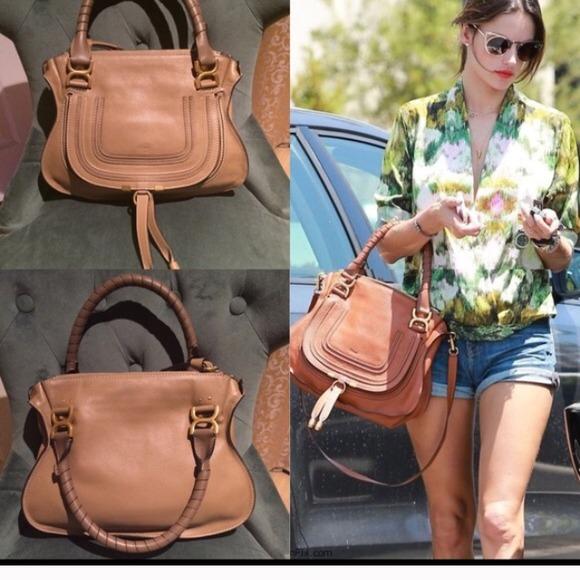 chloe marcie small leather crossbody bag - 24% off Chloe Handbags - Sold on eBay ??%Authentic CHLOE Medium ...