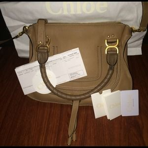 chloe marcie bag replica - 24% off Chloe Handbags - Sold on eBay ??%Authentic CHLOE Medium ...