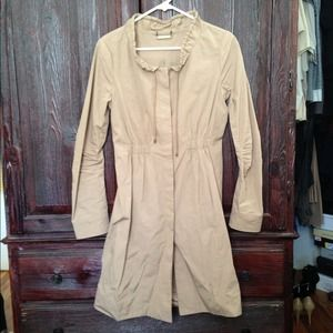 DVF Spy Trench Jacket khaki