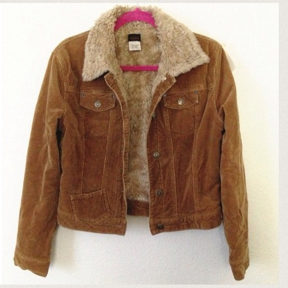 70% off Outerwear - ⚡FLASH SALE⚡Fur Lined Corduroy Jacket from ...