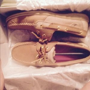 Brand new Sperry Top Siders.