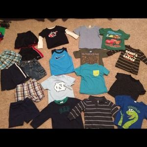 Other - 2t - 3t boy lot. $40 Jordan, Nike, Gap and other