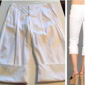 Vince Cuffed Capri Pants