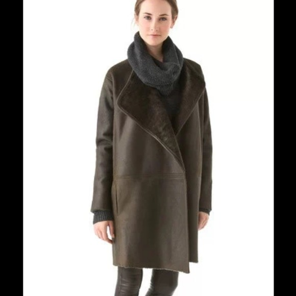 Vince - SOLD!!! Vince Lamb Shearling coat from Melo vintage