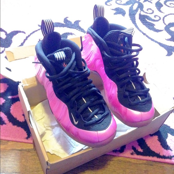 Nike Shoes Foamposites Pink Men Size 8 Poshmark