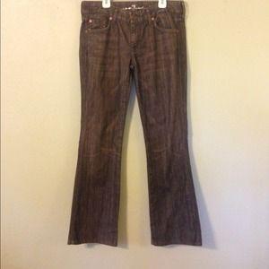 Grey 7FAM Jeans
