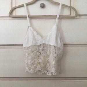 LF Tops - LF Crochet crop top