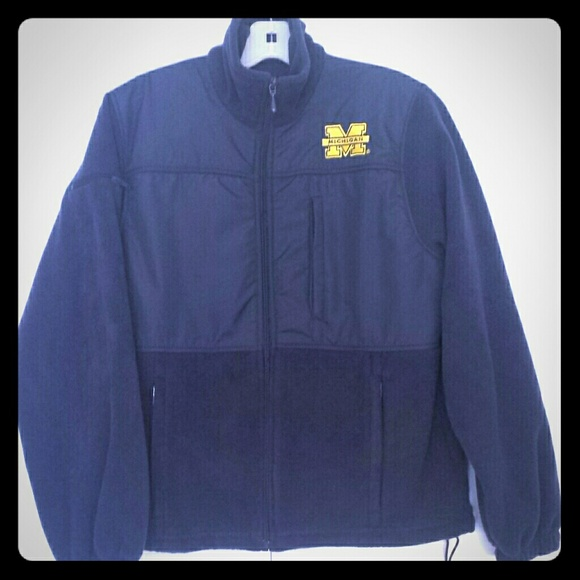 56% off Outerwear - Michigan wolverines fleece jacket from Kayla's ...
