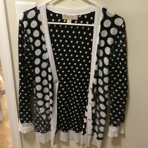 Michael Kors Sweaters - 💥FLASH SALE💥Michael Kors polka dot cardi