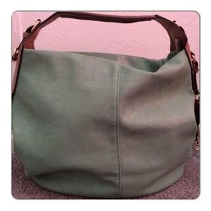 Beautiful Green tea hobo handbag