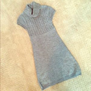SO Dresses & Skirts - 🇺🇸SALE!🇺🇸SO Cowl Neck Gray Sweater Dress