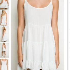 Brandy Melville light blue jada dress