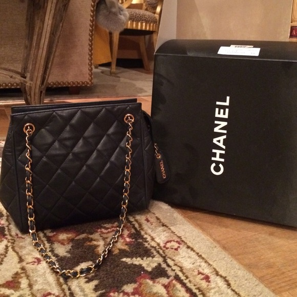 37e8b6822aec CHANEL Bags | Authentic Never Used Black Bag | Poshmark