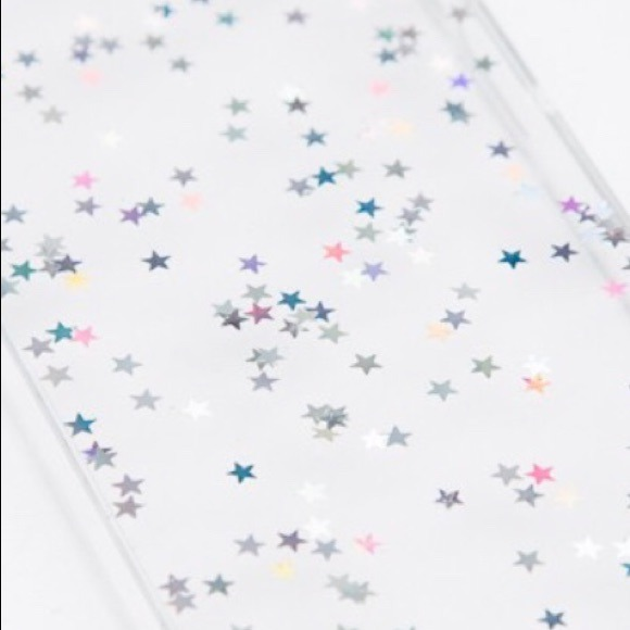 Brandy Melville Accessories - clear iPhone 5/5S case with holographic ...
