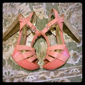 Coral Guess by Marciano Platform Omarla Heels