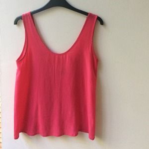 100% silk, Pink, low back dressy tank