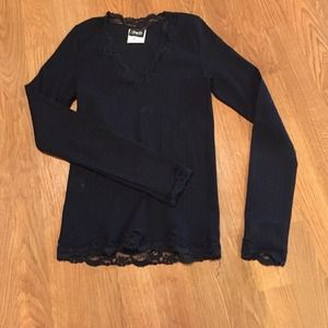 Dolce & Gabbana long sleeve black shirt