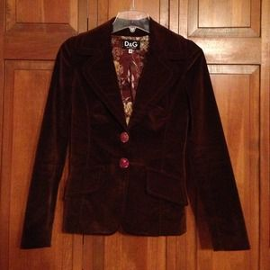 Dolce & Gabbana dress jacket!