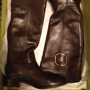 Tory Burch Lawrie riding boots