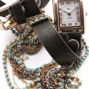 La Mer Chain Wrap Watch