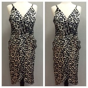 ABS Animal Print Dress