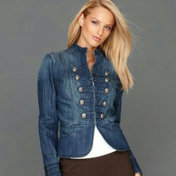 83% off INC International Concepts Denim - *SALE* INC Denim Jacket ...
