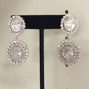 Bold Art Deco statement earrings