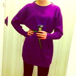 Pringle Sweaters - Authentic Pringle Lambswool Sweaterdress Tunic