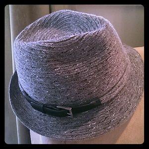 Grey Wool Fedora