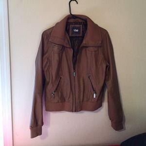 Maurices Chestnut Bomber Jacket