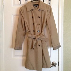Forever 21 Beige Trench Coat