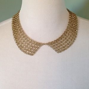 Cara Jewelry - Peter Pan Collar Chain Necklace