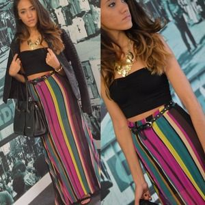 Dresses & Skirts - Multi Color Maxi Skirt